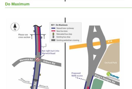 Histon Road scheme
