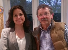 JDJ with Heidi Allen, MP for South Cambs.