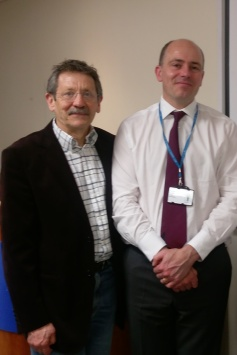 JDJ with Roland Sinker, CEO at Addenbrooke's