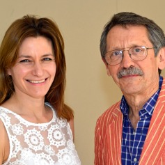 JDJ with Lucy Frazer, MP for South East Cambs