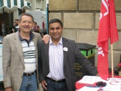 JDJ with Tariq Sadiq former CCC colleague