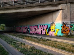 busway grafitti
